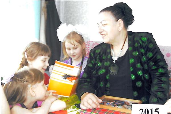 Строгановский детский дом в гостях у писателя